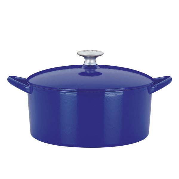 Dansk Mario Batali by 6-quart Cobalt Round Dutch Oven