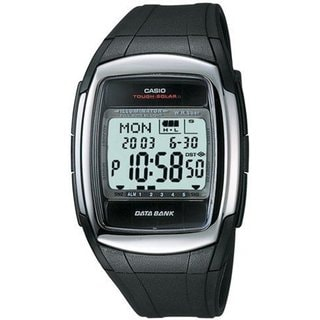 Casio Men's Core DBE30-1AV Black Resin Quartz Watch with Digital Dial