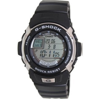 Casio Men's G-Shock G7700-1 Black Resin Quartz Watch with Grey Dial