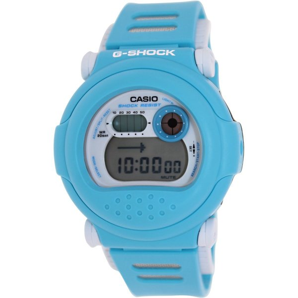 Casio Men's G-Shock G001SN-2 Blue Plastic Quartz Watch with Digital Dial