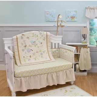 Nurture Imagination Nest 4-piece Crib Bedding Set
