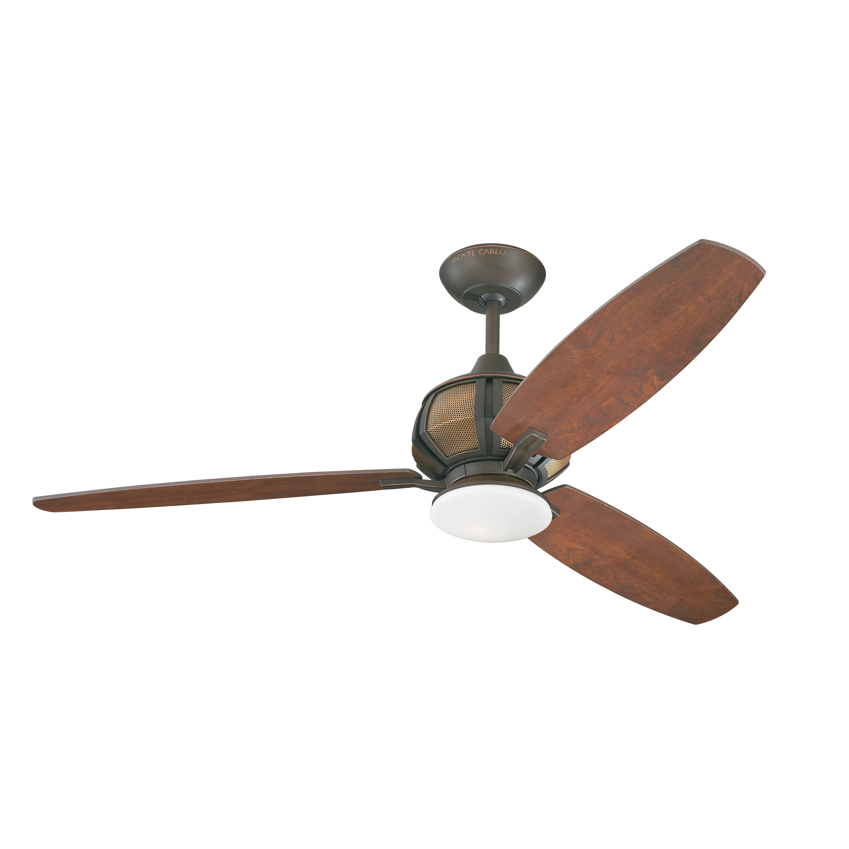 Monte Carlo Acura Roman Bronze/ Bavarian Walnut 52-inch Ceiling Fan at Sears.com