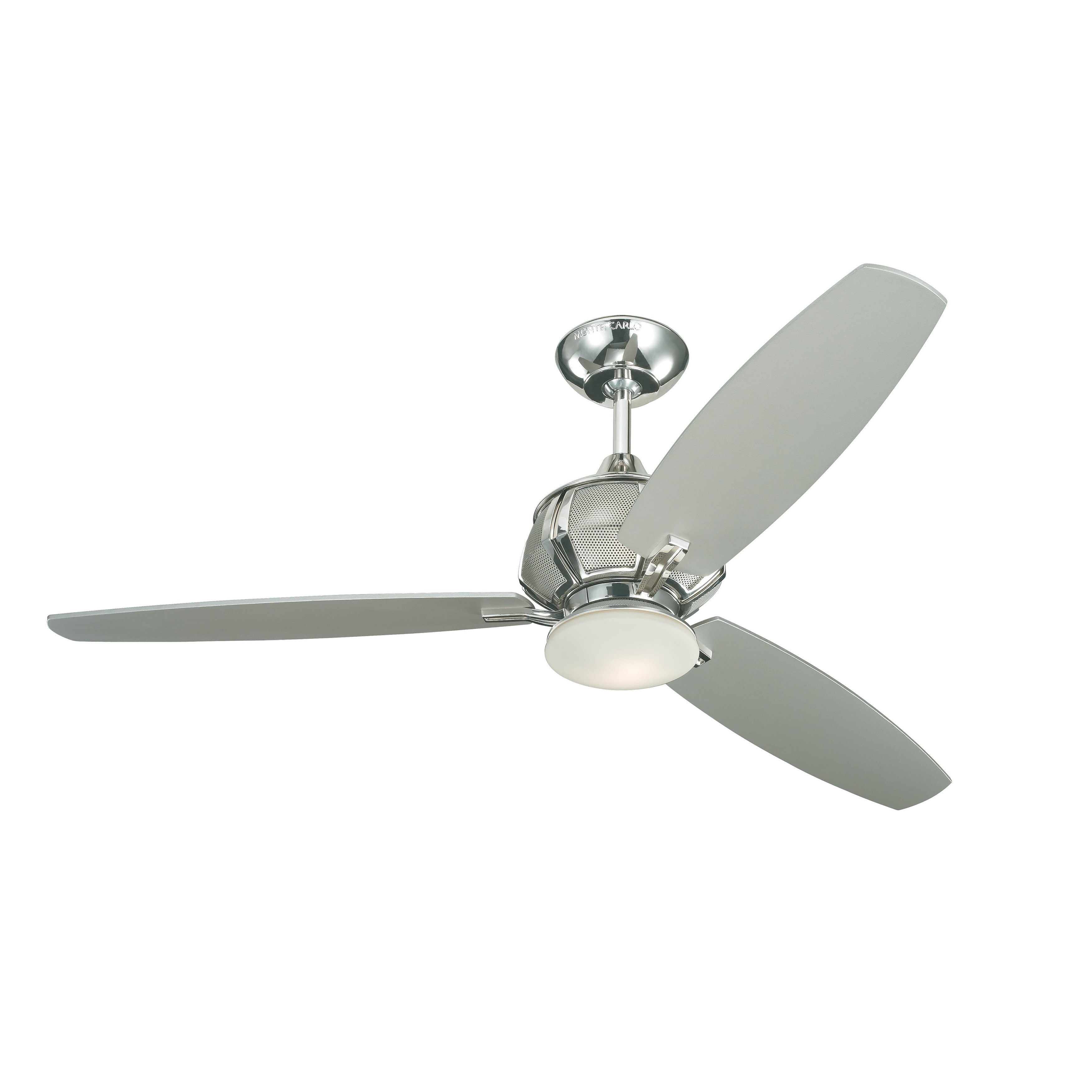 Monte Carlo Acura Polished Nickel 52-inch 3-blade Ceiling Fan at Sears.com