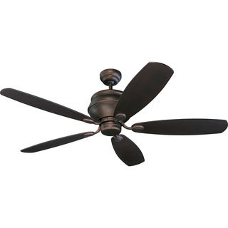 Weatherstar 52-inch 5-blade Roman Bronze Outdoor Ceiling Fan