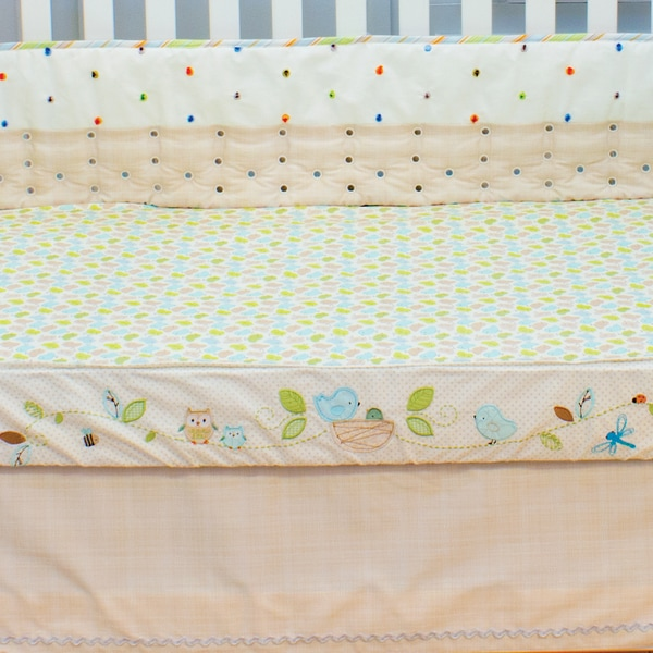 Nurture Imagination Nest Fitted Sheet