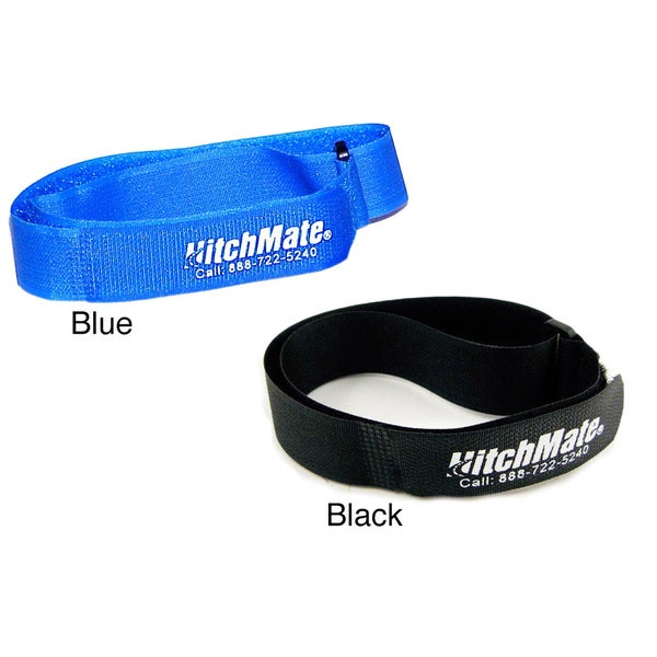 HitchMate QuickCinch Hook n' Loop Soft Straps