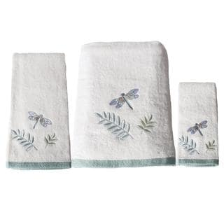 Saturday Knight Harmony 3-piece Embroidered Towel Set