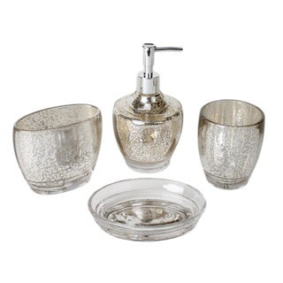 Saturday Knight Delaney 4-piece Bath Accessory Set