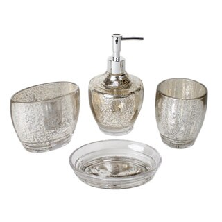 Saturday Knight Delaney Bath Accessory 4-piece Set