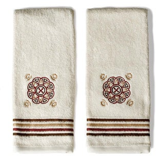 Saturday Knight Basma Embellished Hand Towels (Set of 2)
