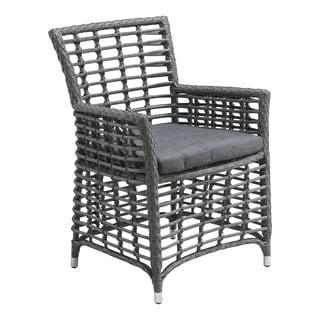 Sandbanks Grey Aluminum Dining Chair (Set of 2)