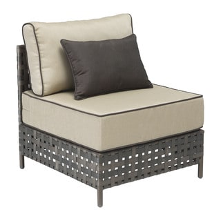 Pinery Beige Outdoor Middle-seat Armless Chair