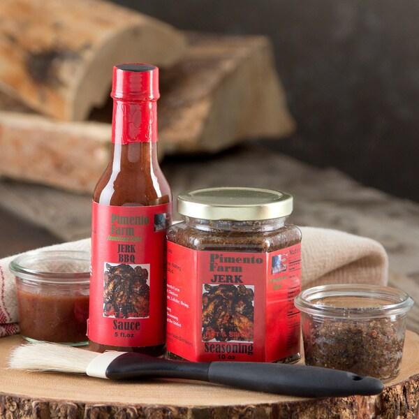 Pimento Farm Jerk Seasoning and Jerk BBQ Sauce ( Set of 4)