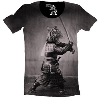 Samurai Tiger Men's T-Shirt