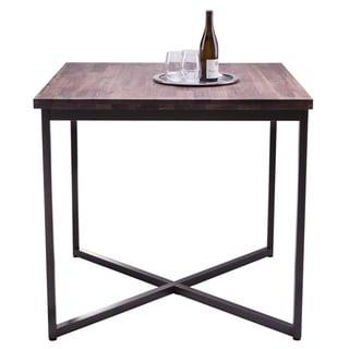 Sunpan Porto Distressed Walnut Bar Table