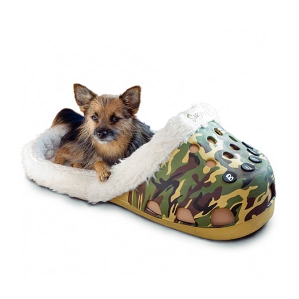 Sasquatch II Sandstorm Camo Sock Pet Bed