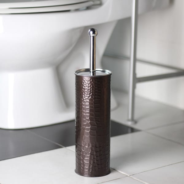Oil Rubbed Bronze Toilet Brush Holder with Brush