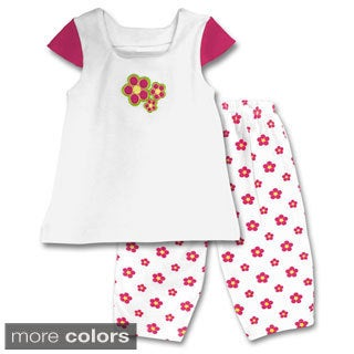Spencer's Girls' Flower Tee and Leggings Set