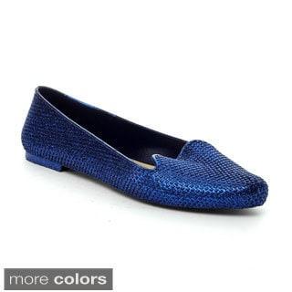 Easos Women's 'Geal' Glittery Comfort Flats