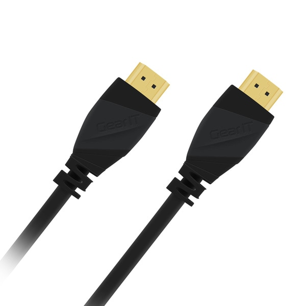 GearIT High-speed HDMI Cable, Supports Ethernet, 3D and Audio Return (Pack of 3)