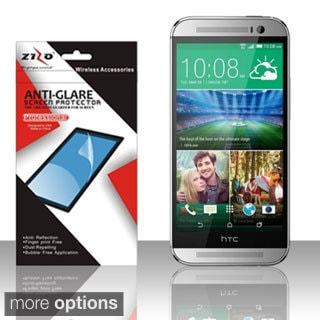 BasAcc Clear/ Anti-Glare Fingerprint Free LCD Screen Protector for HTC One 2 M8