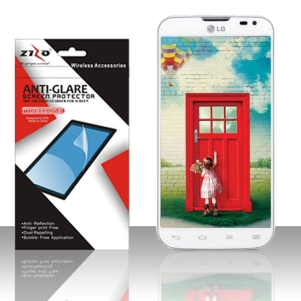INSTEN Clear LCD Screen Protector for LG Optimus L70/ Exceed II Dual D325