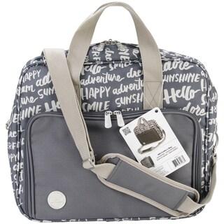 Crafter's Shoulder Bag-15.5inX17inX3.75in Charcoal