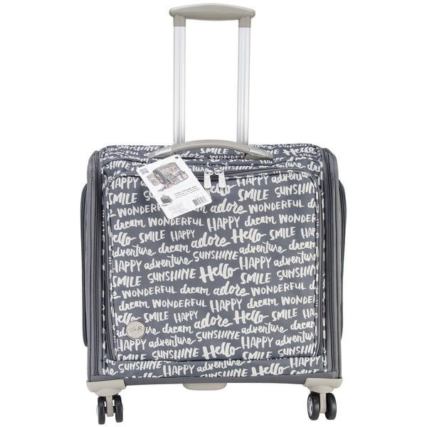 360 Crafter's Rolling Bag-18inX20inX12in Charcoal 13292204