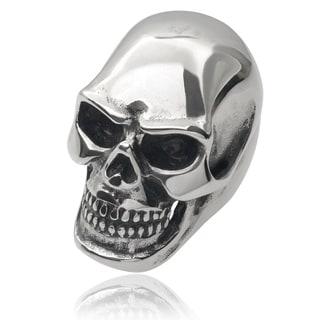 Vance Co. Men's Stainless Steel Large Skull Ring