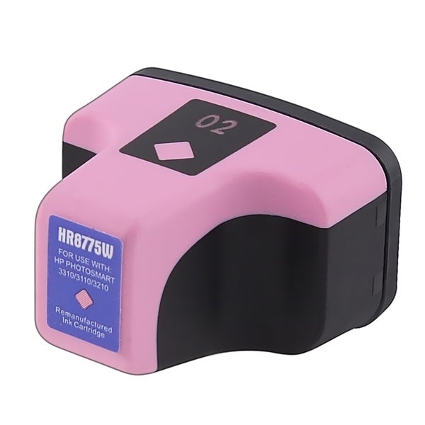 INSTEN Remanufactured Magenta Inkjet No.2 Ink Cartridge for HP PhotoSmart Series