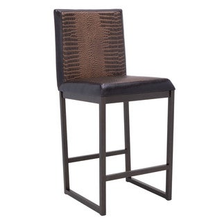 Sunpan Porto Brown Counter Stool (Set of 2)