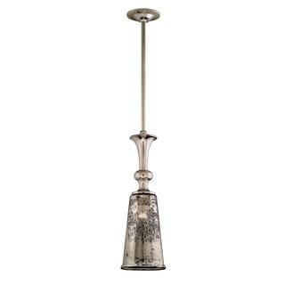 Corbett Lighting Argento 1-light Polished Nickel Medium-Long Bar Pendant