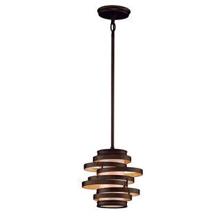 Vertigo 1-light Bronze Mini Pendant