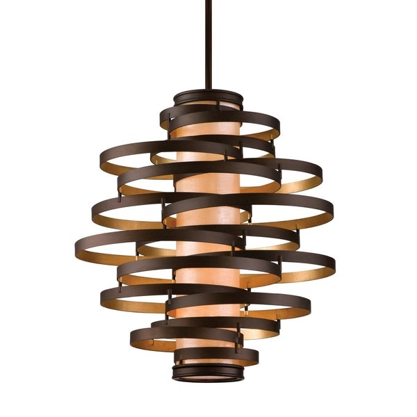Corbett Lighting Vertigo 4-light Bronze Pendant