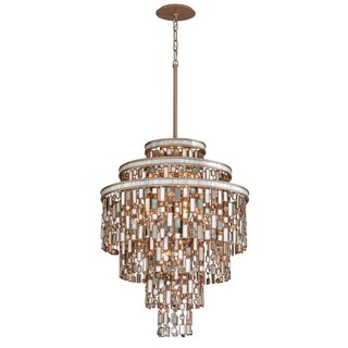 Corbett Lighting Dolcetti 13-light Silver Pendant