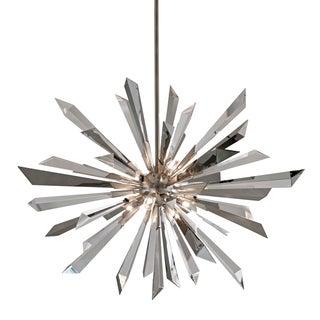 Corbett Lighting Inertia 8-light Silver Pendant