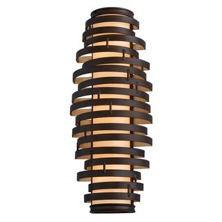 Vertigo 3-light Bronze Wall Sconce