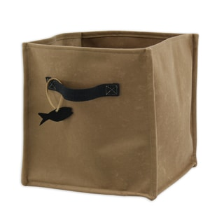 Tan Kitty Soft Sided Storage Container
