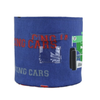 Racing Cars 10.75-inch Round Soft Storage Container