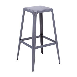 Sunpan Cannon Grey Bar Stool (Set of 2)