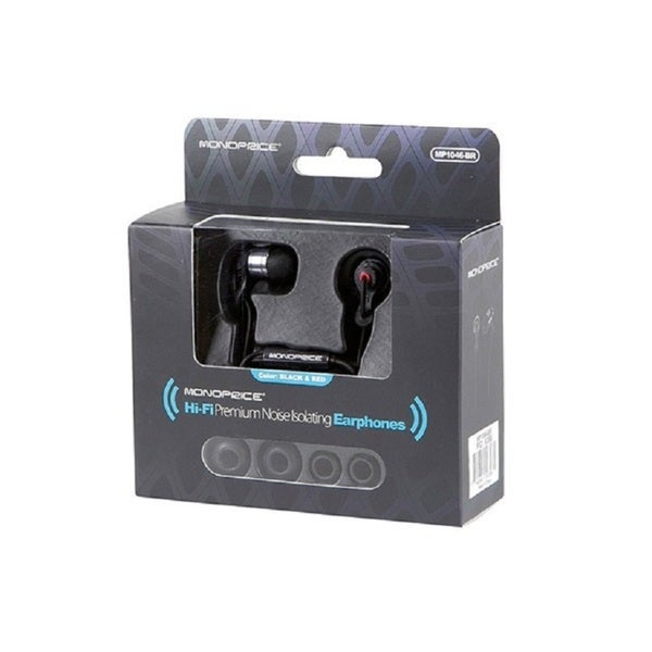 Monoprice Hi-fi Premium Noise Isolating Earphones