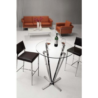 Zuo Mimosa Stainless Steel Bar Table