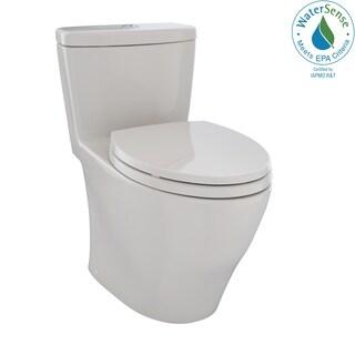 Toto Aquia Sedona Beige One-piece Toilet