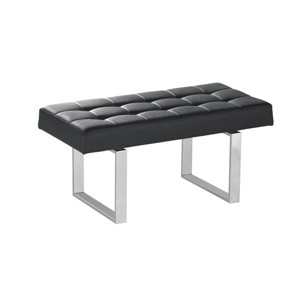Sunpan Urbano Chrome Bench