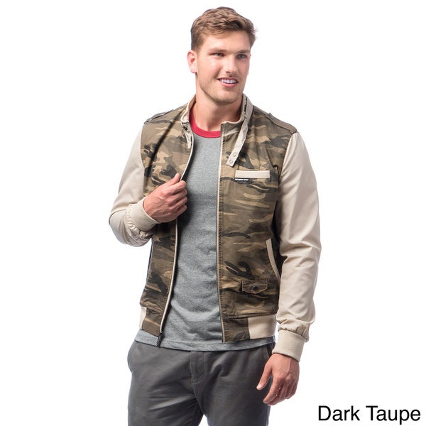 Men's Camouflage Racer Jacket