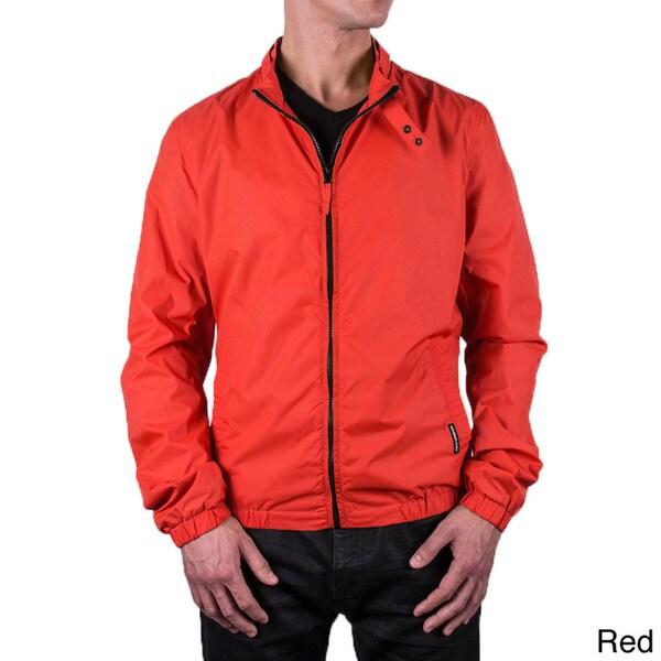 Men's Packable Windbreaker Jacket