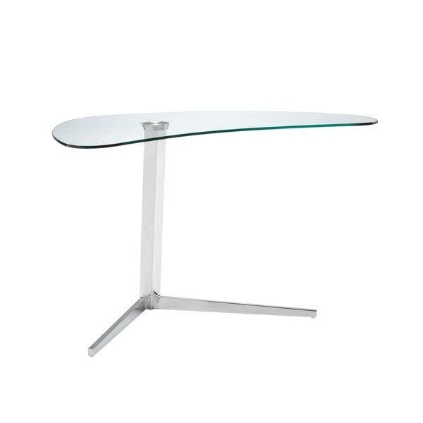 Sunpan Campaign Silver Writing Desk