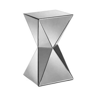 Artessa Beveled Glass Accent Table