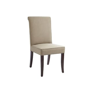Sunpan Baron Olive Linen Dining Chair (Set of 2)