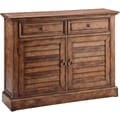 Theodore Weathered Brown Traditional Cabinet